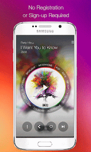 Samsung Milk Music Screenshot 1