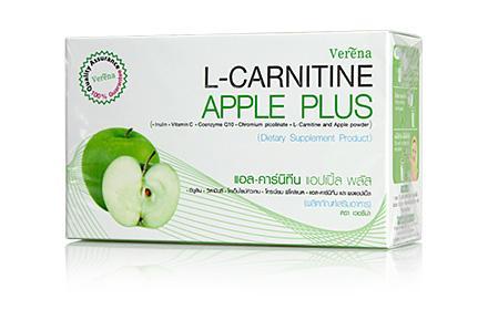 Verena L-Carnitine Apple Plus 150g