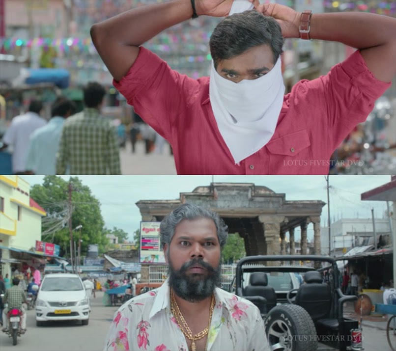 tamil vijay sethupathi wearing kerchief fight