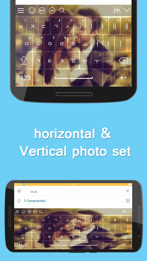 Korean Keyboard APK 1.0 screenshots 3