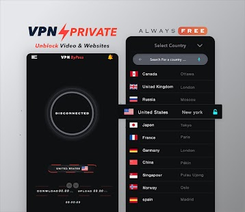 VPN Private : Unblock Websites Free VPN Proxy Screenshot