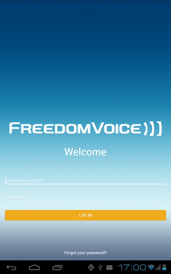 FreedomVoice- screenshot