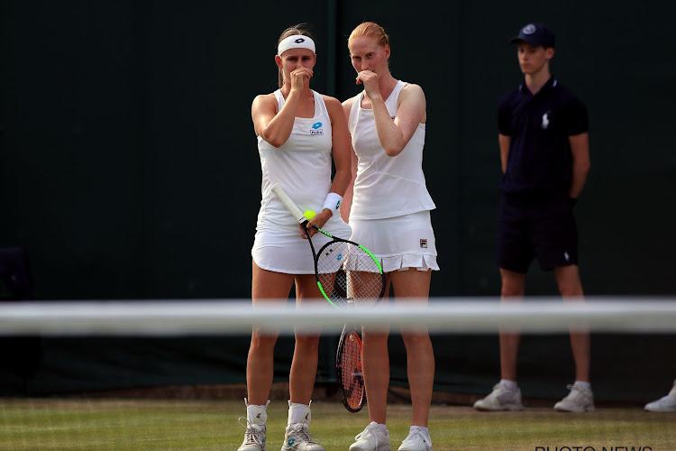 Greet Minnen en Alison Van Uytvanck nipt onderuit in driesetter in kwartfinales