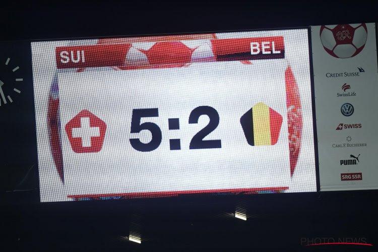 """Zwitserse pers prees uitzonderlijke prestatie tegen de Rode Duivels: """"En dat tegen een van de meest aantrekkelijke teams van de laatste jaren"""""""