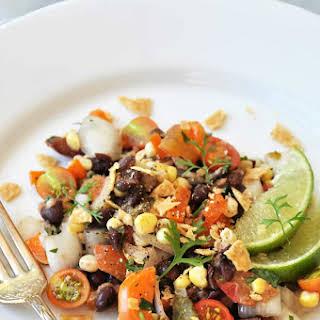 Southwestern Roasted Corn and Black Bean Salad.