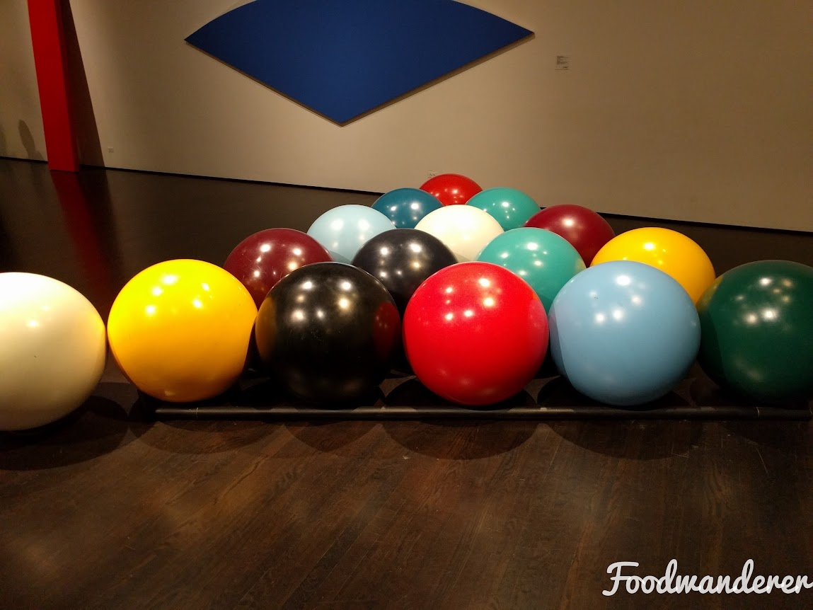 Giant Pool ball art
