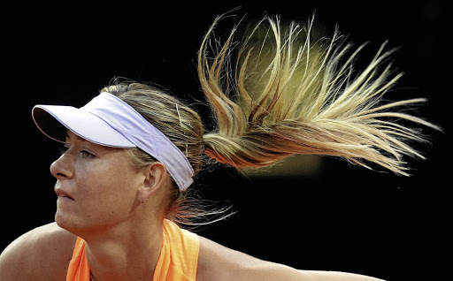 Chasing dreams: Maria Sharapova has received backing from WTA CE Steve Simon. Picture: REUTERS