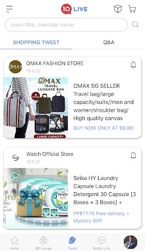 Qlive Social Shopping screenshots 3