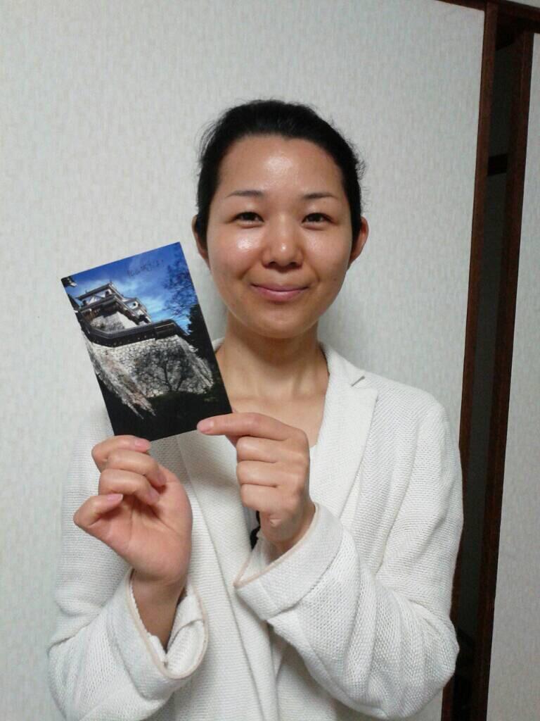 Photo: 旅先、出先などの手紙は、もらうとうれしいね。ありがとう!!