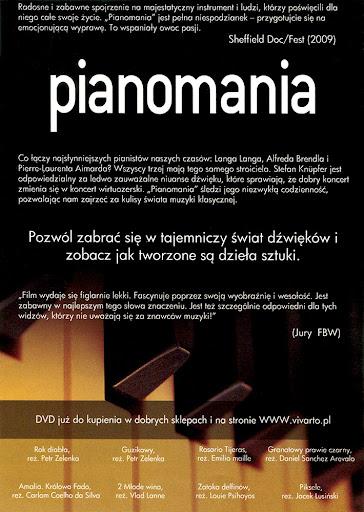 Tył ulotki filmu 'Pianomania'