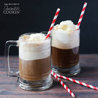 Root Beer Float Cocktail.