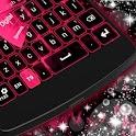 Pink Purple GO Keyboard