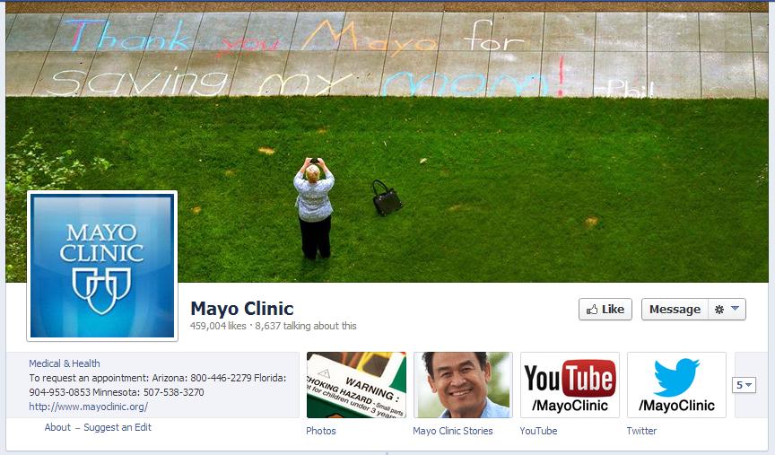 Healthcare Social Media Spotlight: Mayo Clinic