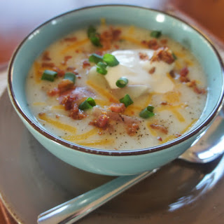 Slow Cooker Baked Potato Soup.
