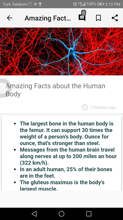 Interesting Facts- screenshot