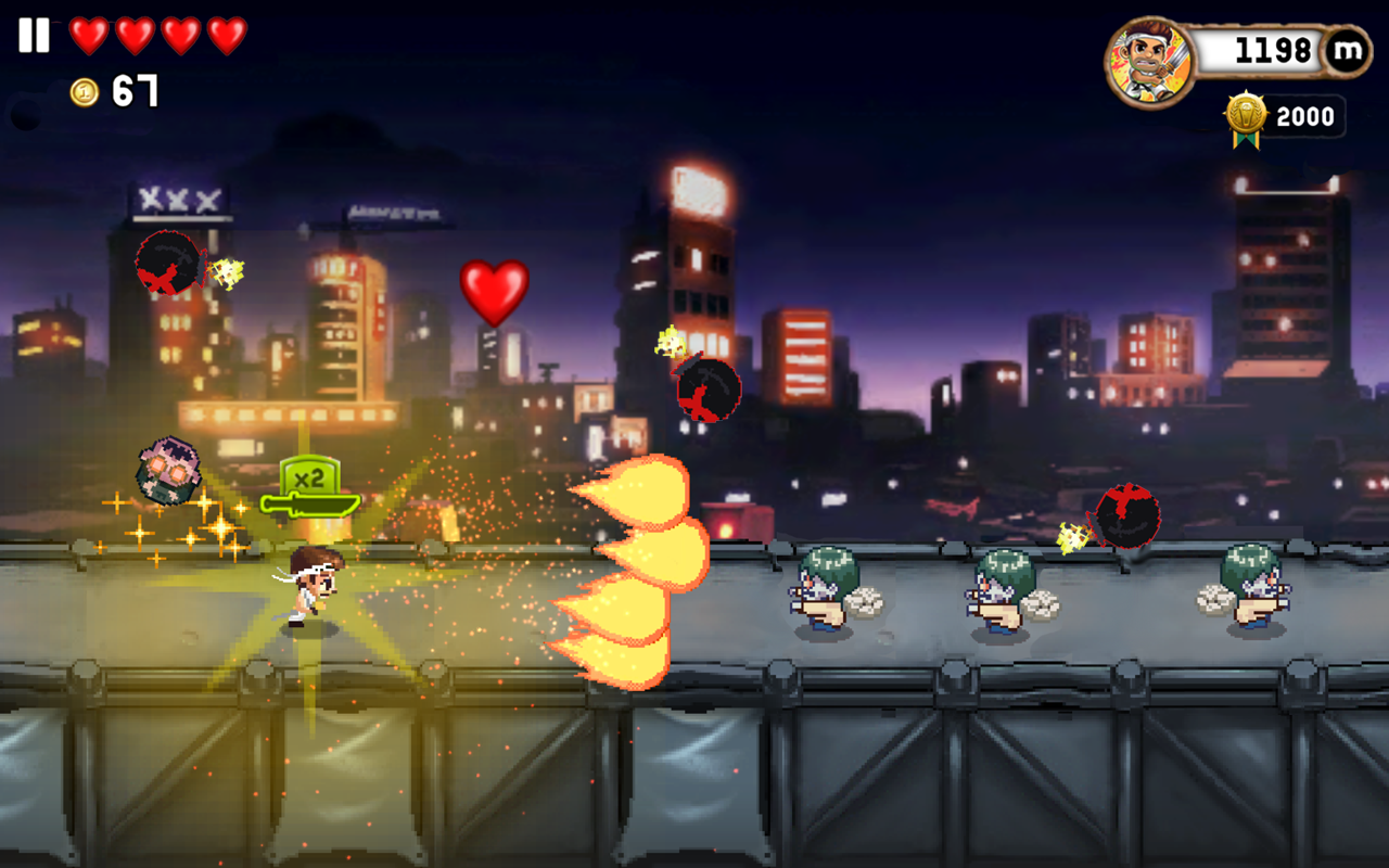 Monster Dash – screenshot