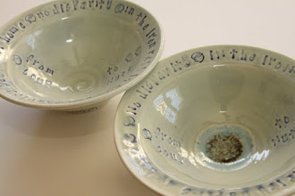 Photo: Bowls for the event made by Julie Bagish - http://www.julspottery.com