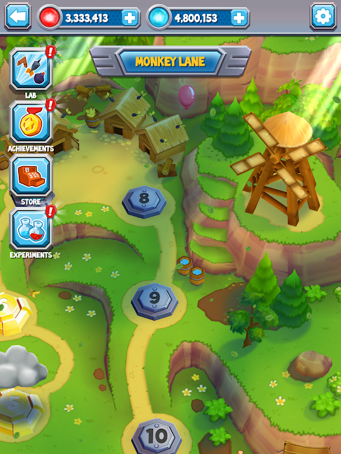 #9. Bloons Supermonkey 2 (Android)