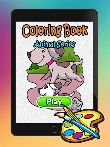 玩免費休閒APP|下載猫狗着色书 app不用錢|硬是要APP