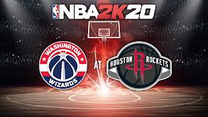 NBA2K20: Washington Wizards at Houston Rockets thumbnail