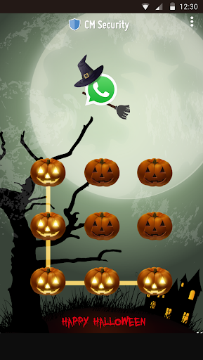 AppLock Theme Halloween screenshot 6