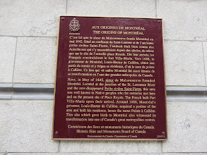 Photo: The Origins of Montreal