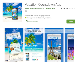 countdown apps for android and ios
