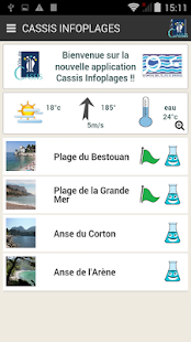 Cassis Infoplages- screenshot thumbnail