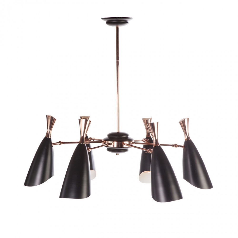 DUKE CHANDELIER 6 LIGHTS| DESIGNER REPRODUCTION
