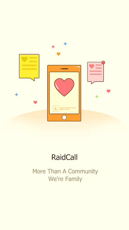 RaidCall - Best Solution for Group Communication- screenshot