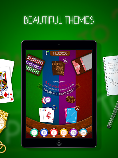 Blackjack! u2660ufe0f Free Black Jack Casino Card Game 1.7.0 screenshots 9