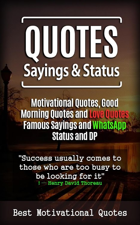 Quotes Sayings And Status Android Aplicaciones Appagg