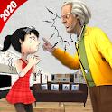 Scary Teacher Doctor Hospital Horror Games icon