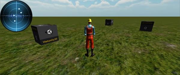 [Unity căn bản] Hướng dẫn tạo một Radar định hướng cho người chơi trong Unity