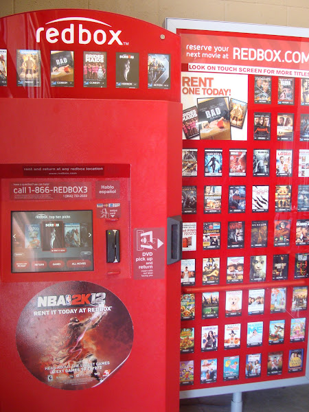 Photo: Man, do we love Redbox! SO many options for a little over a buck! You can't beat that!