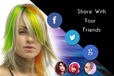 Change Hair Color Android Apps On Google Play - Hairstyle change app download