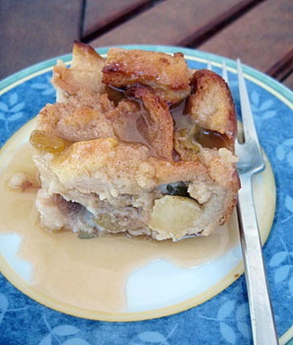 Grandma Woods' Apple Pudding Recipe