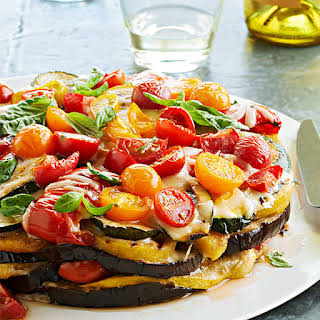 Smoky Grilled Vegetable Torte.