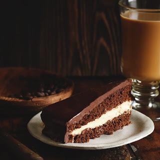 Low-Carb Chocolate Latte Dream Cake.