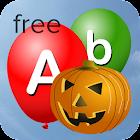 Alphabet Balloons Free (Kids) icon
