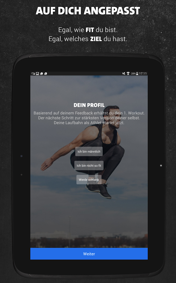 Freeletics Bodyweight – Screenshot