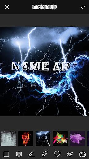 3D Smoke Effect Name Art Maker 3.0 screenshots 3