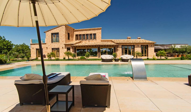Propriété avec piscine et jardin Majorque