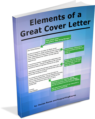 how to write a good cover letter for a job    kopywriting