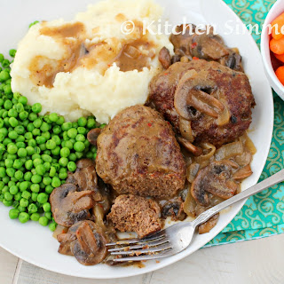 Salisbury Steak with Mushroom and Onion Gravy