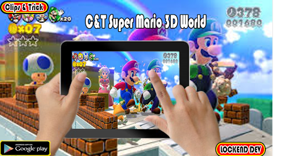 Clips And Trick Super Mario 3D World - náhled
