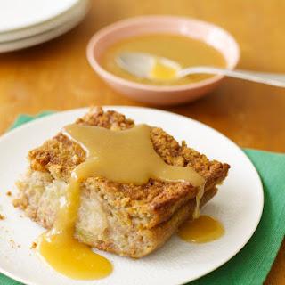 Baked Apple Butterscotch Pudding.