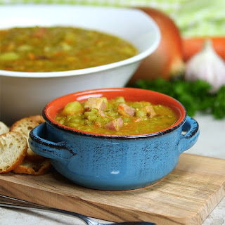 This Split Pea Soup Is Thick, Rich, Flavorful and Crock Pot Easy