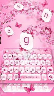Butterfly Love Keyboard - náhled