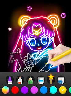 Draw Glow Comics Screenshot